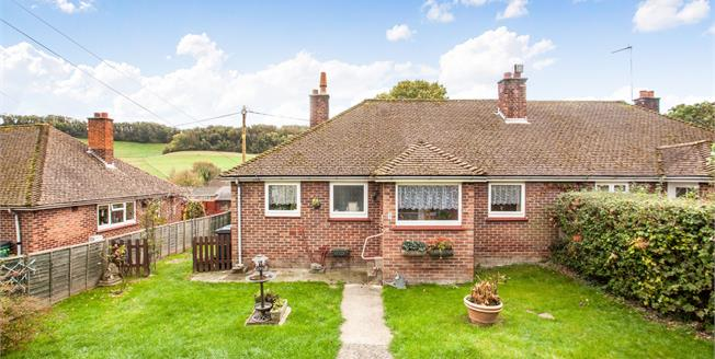 Asking Price £200,000, 2 Bedroom Semi Detached Bungalow For Sale in Alkham, CT15