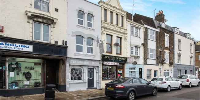 Guide Price £200,000, 3 Bedroom Terraced House For Sale in Dover, CT17