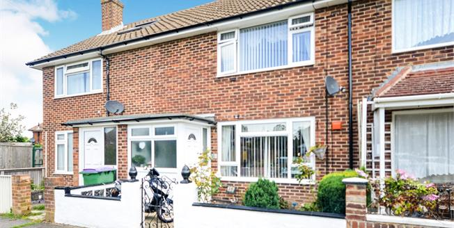 Asking Price £220,000, 2 Bedroom Terraced House For Sale in Folkestone, CT19