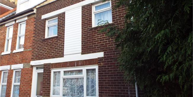 Guide Price £110,000, 2 Bedroom End of Terrace House For Sale in Folkestone, CT19