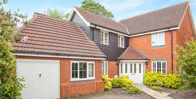 Asking Price £425,000, 4 Bedroom Detached House For Sale in Hawkinge, CT18