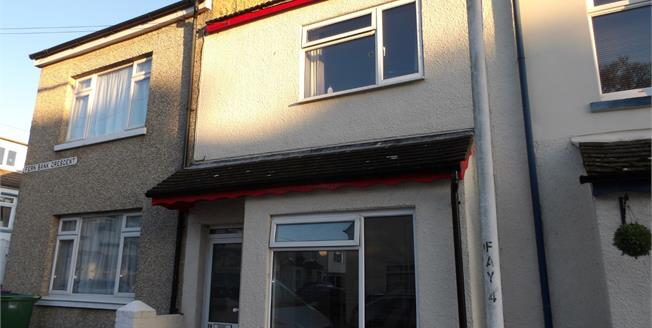 Guide Price £180,000, 2 Bedroom Terraced House For Sale in Folkestone, CT19