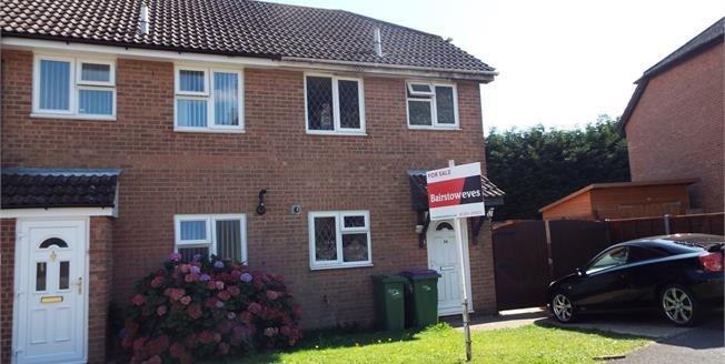Guide Price £210,000, 2 Bedroom End of Terrace House For Sale in Hawkinge, CT18