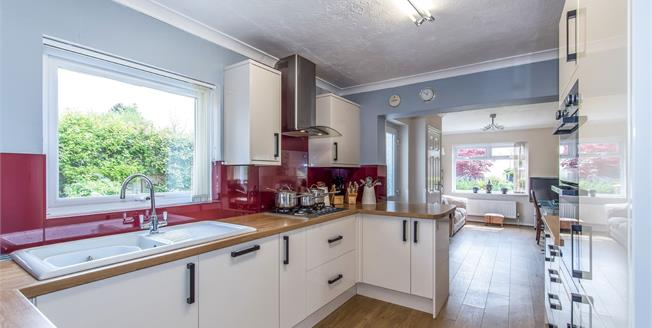 Guide Price £325,000, 2 Bedroom Semi Detached Bungalow For Sale in Faversham, ME13