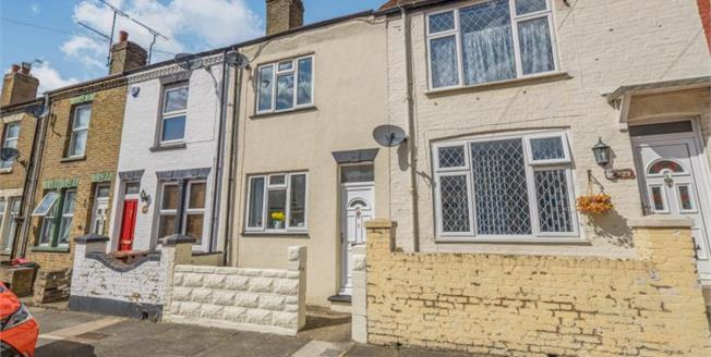 Offers Over £165,000, 2 Bedroom Terraced House For Sale in Gillingham, ME7