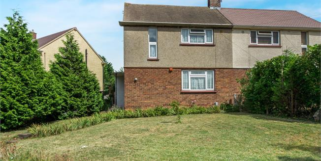 Asking Price £240,000, 2 Bedroom Semi Detached House For Sale in Gravesend, DA12