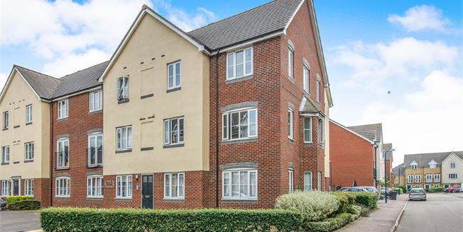 Guide Price £180,000, 2 Bedroom Flat For Sale in Gravesend, DA11