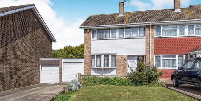 Guide Price £300,000, 3 Bedroom End of Terrace House For Sale in Northfleet, DA11