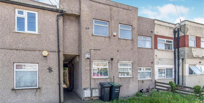 Guide Price £160,000, 2 Bedroom Maisonette For Sale in Northfleet, DA11