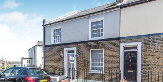Guide Price £260,000, 2 Bedroom End of Terrace House For Sale in Gravesend, DA12