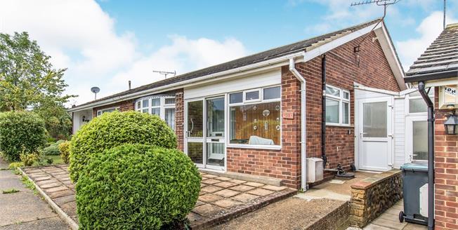 Guide Price £270,000, 2 Bedroom Semi Detached Bungalow For Sale in Gravesend, DA12