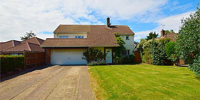 Guide Price £425,000, 4 Bedroom Detached House For Sale in Whitfield, CT16