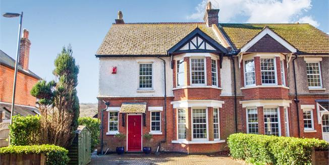 Offers in excess of £350,000, 4 Bedroom Semi Detached House For Sale in Temple Ewell, CT16