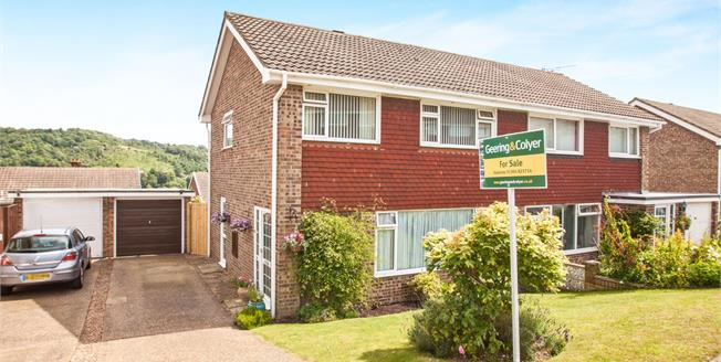 Guide Price £275,000, 3 Bedroom Semi Detached House For Sale in River, CT17