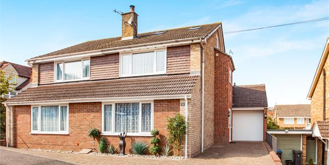 Offers in excess of £300,000, 4 Bedroom Semi Detached House For Sale in Lydden, CT15