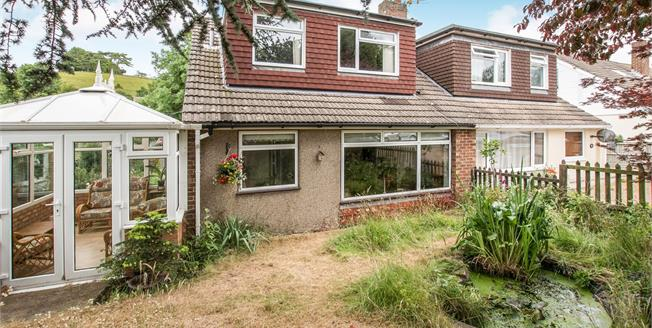 Asking Price £270,000, 3 Bedroom Semi Detached Bungalow For Sale in Lydden, CT15