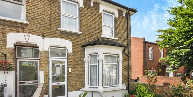 Asking Price £575,000, 2 Bedroom Semi Detached House For Sale in London, SE13