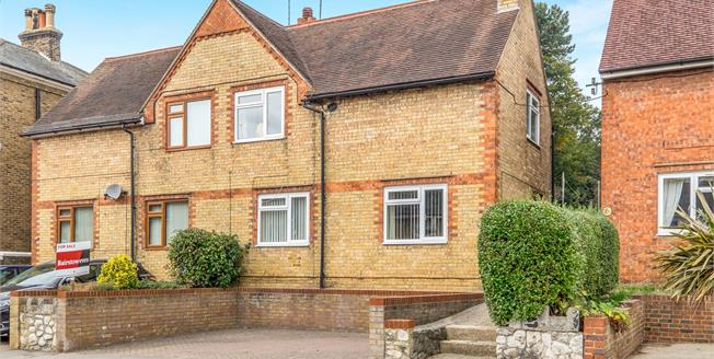 Guide Price £325,000, 3 Bedroom Semi Detached House For Sale in Maidstone, ME16