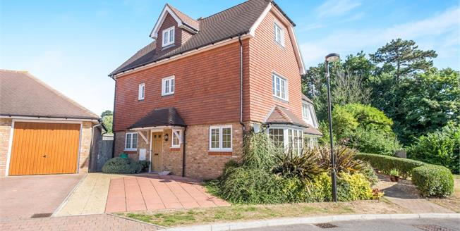 Guide Price £400,000, 4 Bedroom Semi Detached House For Sale in Maidstone, ME16