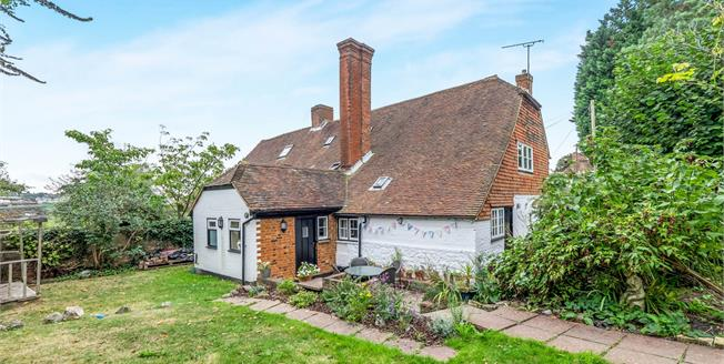 Asking Price £475,000, 4 Bedroom End of Terrace House For Sale in West Farleigh, ME15