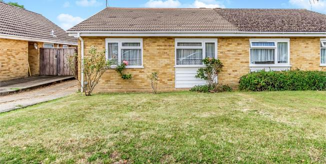 Offers in the region of £275,000, 2 Bedroom Semi Detached Bungalow For Sale in Maidstone, ME15
