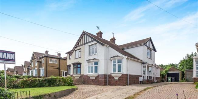 Guide Price £365,000, 4 Bedroom Semi Detached House For Sale in Maidstone, ME16