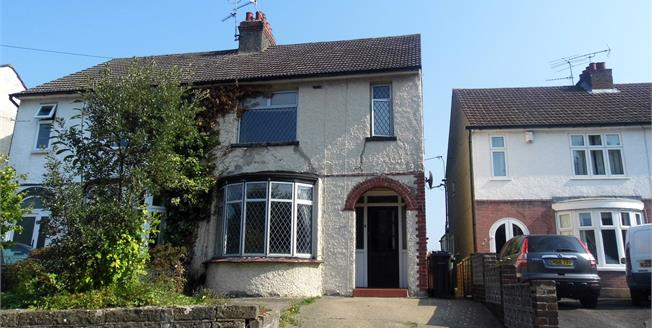 Guide Price £263,000, 3 Bedroom Semi Detached House For Sale in Maidstone, ME15