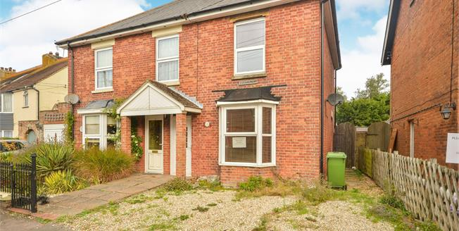 Guide Price £230,000, 3 Bedroom Semi Detached House For Sale in New Romney, TN28