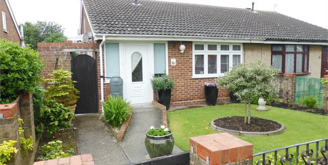 Offers in excess of £215,000, 2 Bedroom Semi Detached Bungalow For Sale in Romney Marsh, TN29