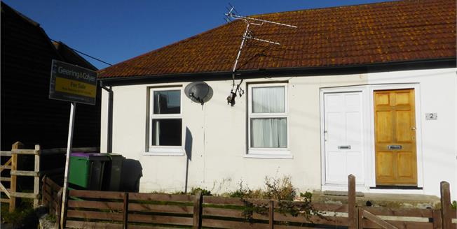 Asking Price £150,000, 1 Bedroom Semi Detached Bungalow For Sale in Lydd, TN29