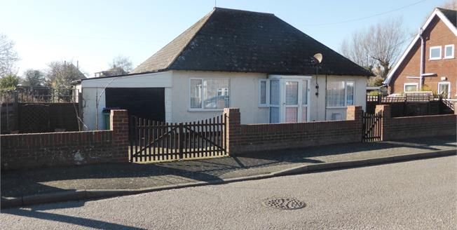 Asking Price £260,000, 3 Bedroom Detached Bungalow For Sale in Dymchurch, TN29
