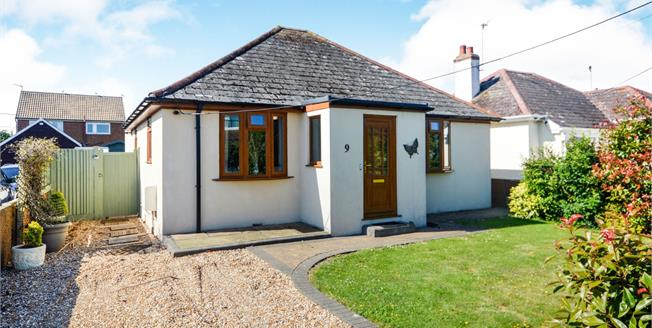 Guide Price £290,000, 2 Bedroom Detached Bungalow For Sale in St. Marys Bay, TN29