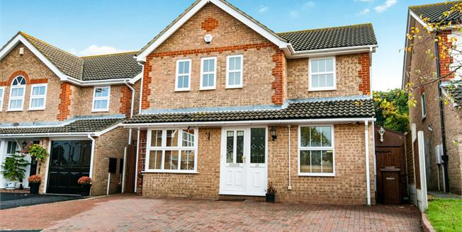 Asking Price £425,000, 4 Bedroom Detached House For Sale in Rochester, ME1
