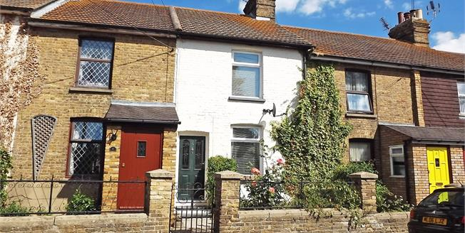 Asking Price £220,000, 2 Bedroom Terraced House For Sale in Conyer, ME9