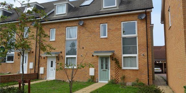 Offers in excess of £270,000, 4 Bedroom End of Terrace House For Sale in Sittingbourne, ME10