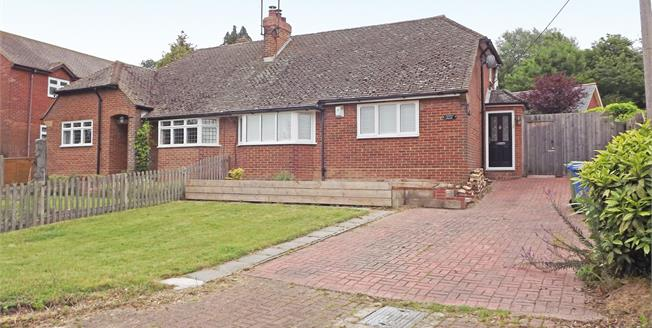 Guide Price £270,000, 2 Bedroom Semi Detached Bungalow For Sale in Rodmersham, ME9