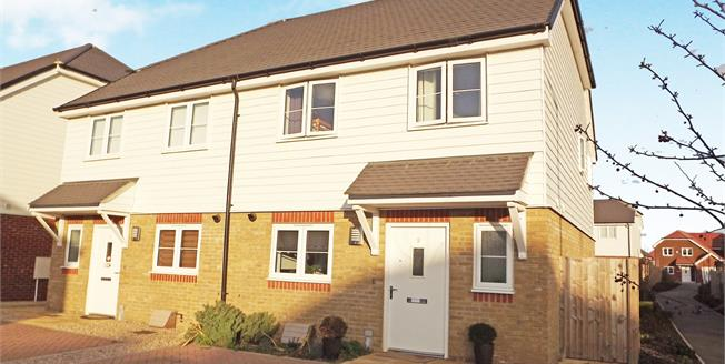 Offers in excess of £270,000, 3 Bedroom Semi Detached House For Sale in Sittingbourne, ME10