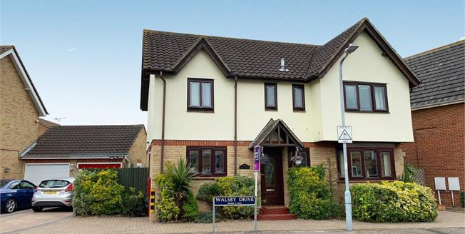 Asking Price £325,000, 4 Bedroom Detached House For Sale in Kemsley, ME10