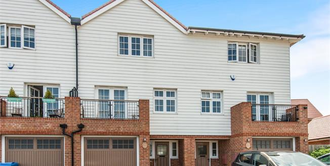 Offers in excess of £350,000, 4 Bedroom Terraced House For Sale in Sittingbourne, ME10