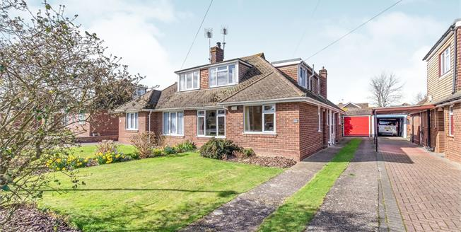 Asking Price £350,000, 3 Bedroom Semi Detached Bungalow For Sale in Sittingbourne, ME10