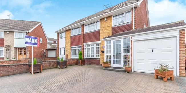 Offers Over £280,000, 3 Bedroom Semi Detached House For Sale in Sittingbourne, ME10