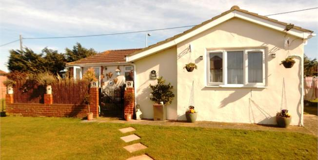 Guide Price £65,000, 3 Bedroom Detached Bungalow For Sale in Leysdown-on-Sea, ME12