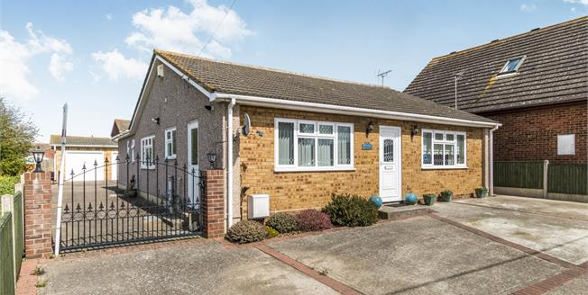 Guide Price £375,000, 4 Bedroom Detached Bungalow For Sale in Minster on Sea, ME12