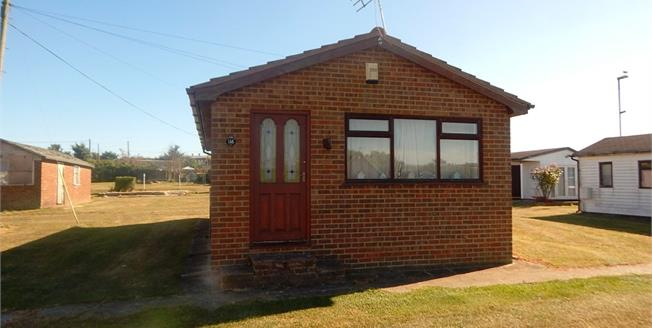 Offers in the region of £35,000, 2 Bedroom Detached Bungalow For Sale in Leysdown-On-Sea, ME12