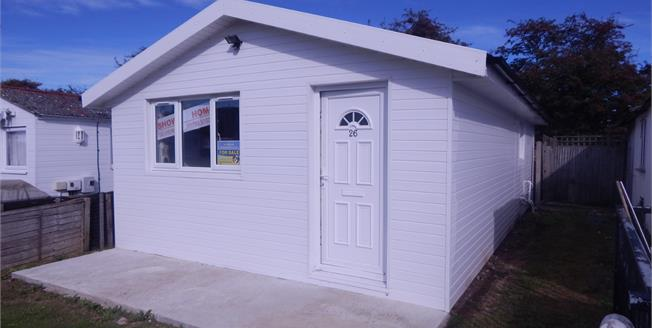 Offers in excess of £20,000, 2 Bedroom Detached Bungalow For Sale in Leysdown-on-Sea, ME12