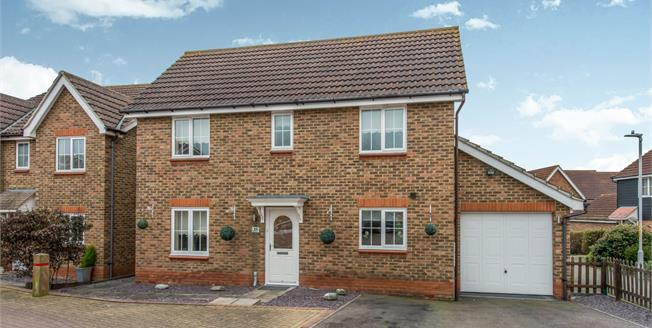 Offers in excess of £350,000, 4 Bedroom Detached House For Sale in Minster on Sea, ME12