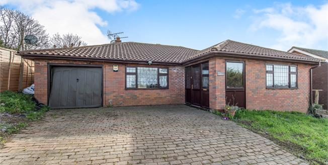 Offers in the region of £305,000, 3 Bedroom Detached Bungalow For Sale in Minster on Sea, ME12