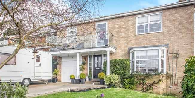 Asking Price £430,000, 4 Bedroom Detached House For Sale in Minster on Sea, ME12