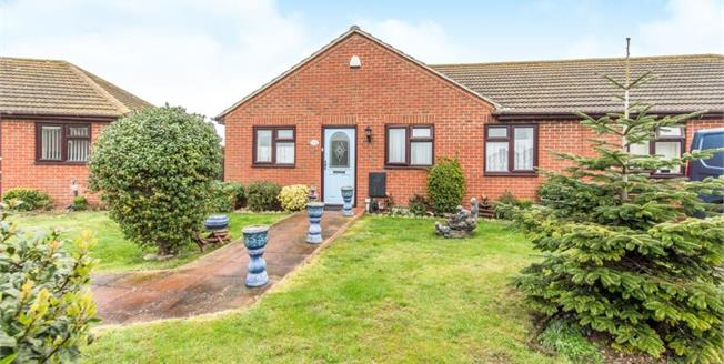 Asking Price £180,000, 2 Bedroom Semi Detached Bungalow For Sale in Minster on Sea, ME12