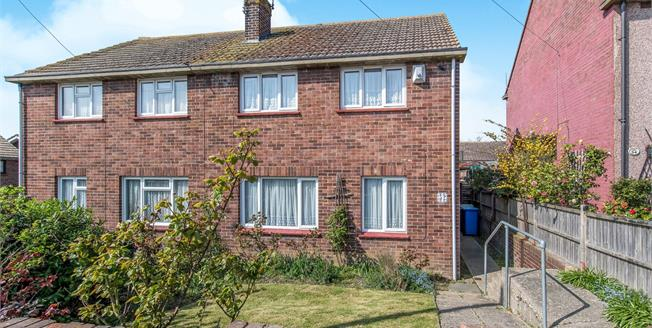 Asking Price £210,000, 3 Bedroom Semi Detached House For Sale in Minster on Sea, ME12
